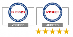 RISQS Verified and Audited Logos